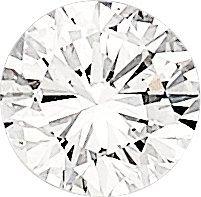 55103: Unmounted Diamond   The round brilliant-cut diam