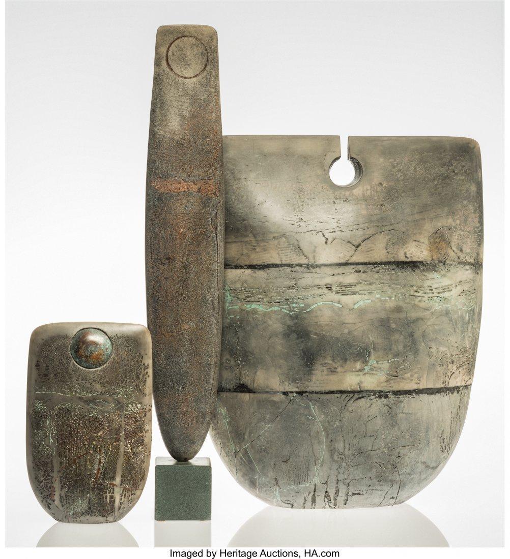 67009: Peter Hayes (British, b. 1946) Three Forms, 1994