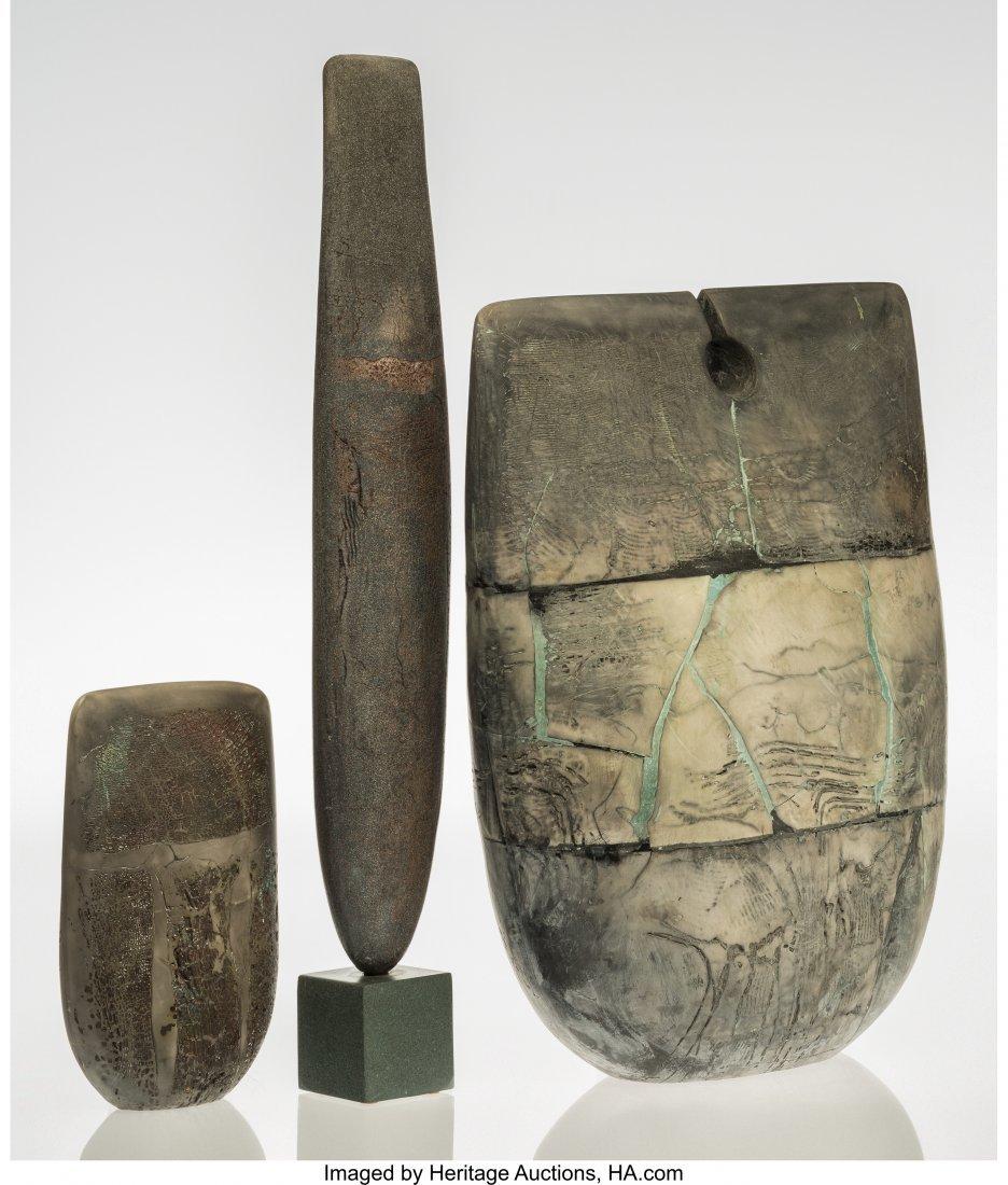 67009: Peter Hayes (British, b. 1946) Three Forms, 1994 - 2