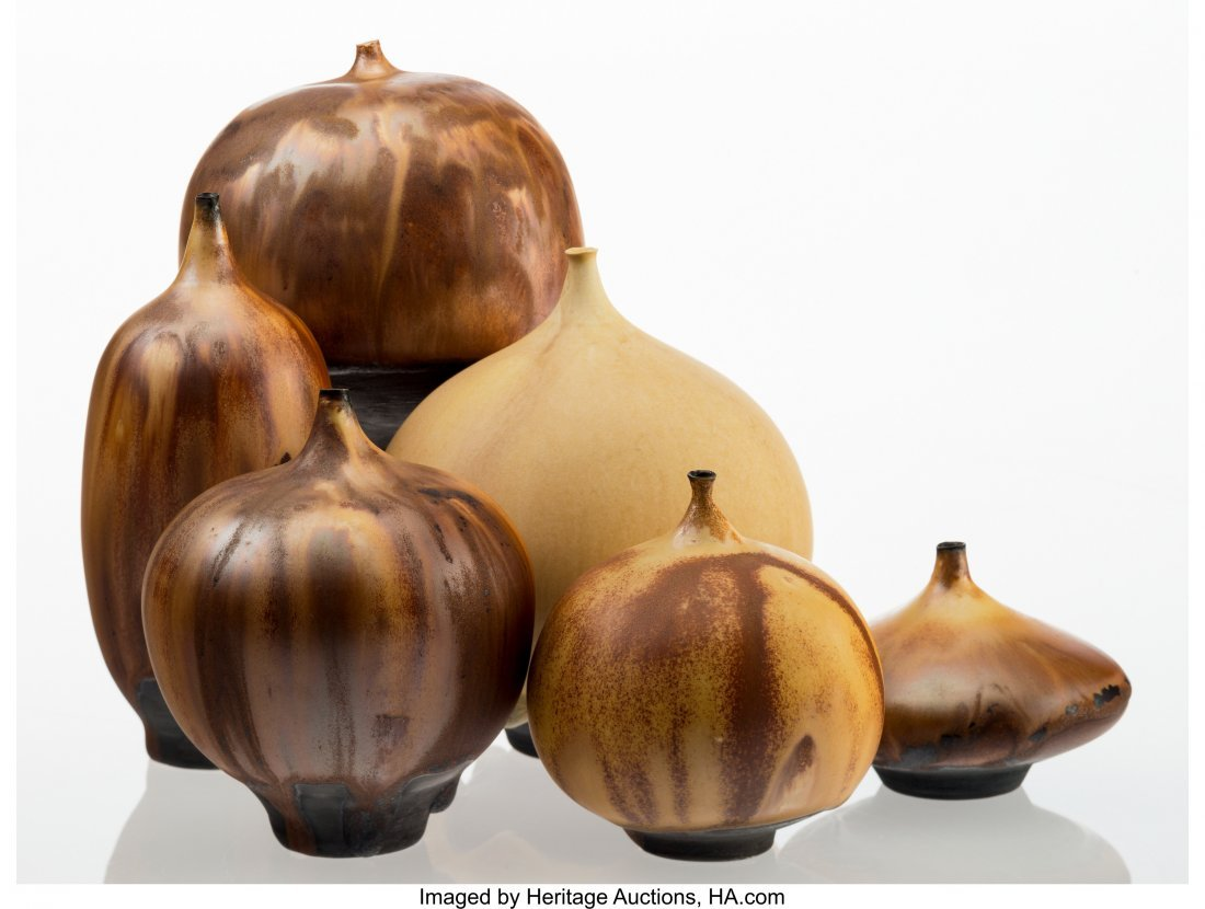 67015: Rose Cabat (American, 1914-2015) Six Feelies, 19