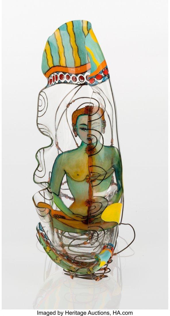 67103: KeKe Cribbs (American, b. 1951) Chakra Reverse f