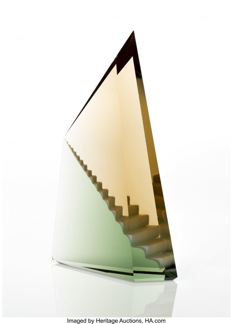 67107: Mark Peiser (American, b. 1938) Pyramid, 1985 Ca