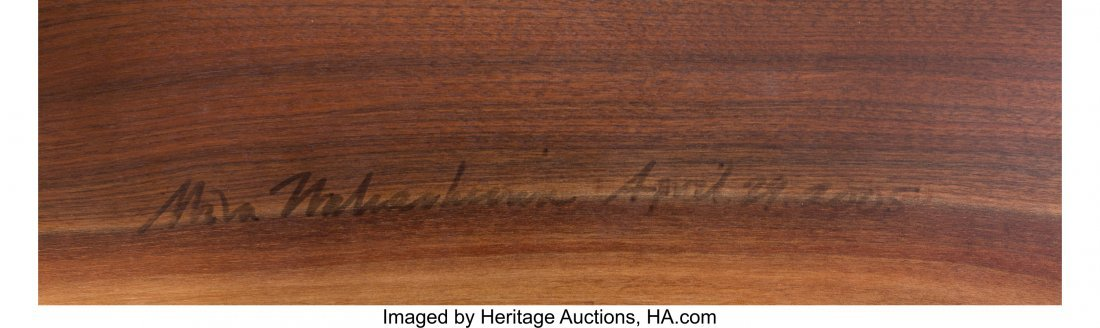 67044: Mira Nakashima (American, b. 1942) Custom Mingur - 4