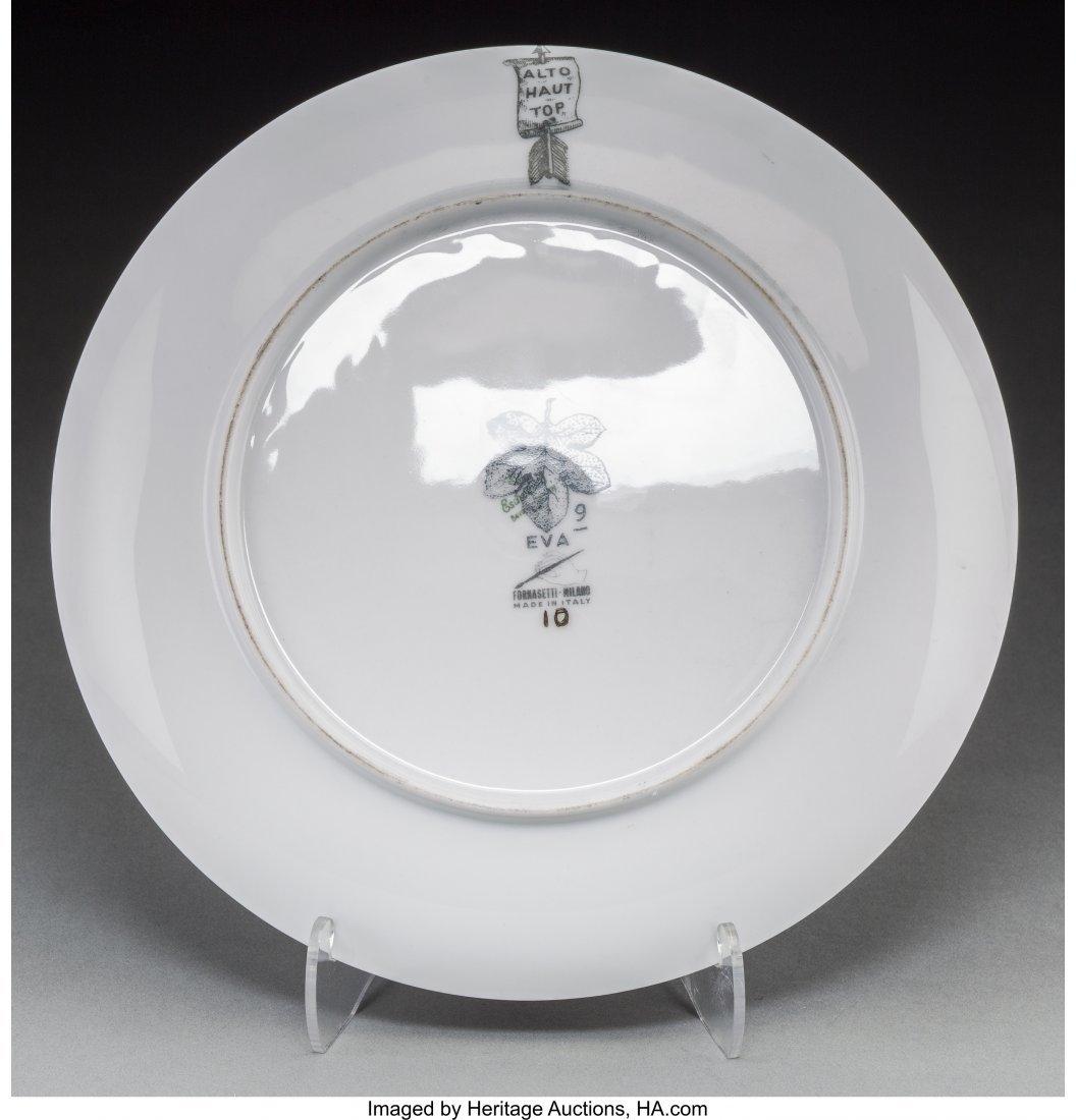 67145: Piero Fornasetti (Italian, 1913-1988) Eva Plates - 2