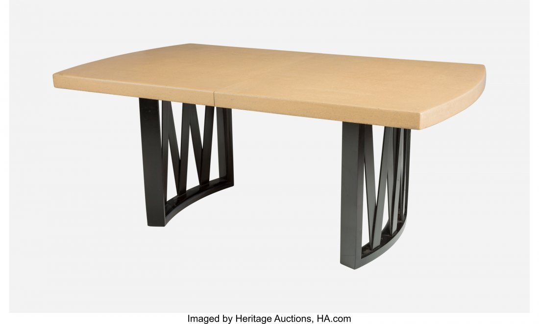67146: Paul Frankl (Austrian, 1886-1958) Dining Table,