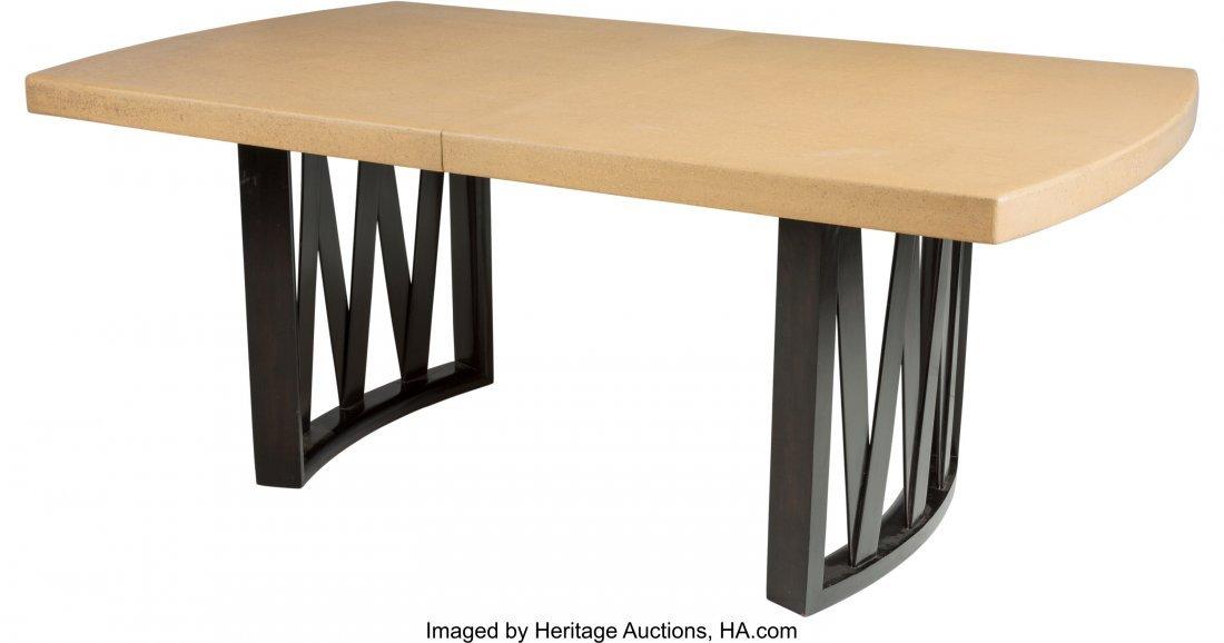 67146: Paul Frankl (Austrian, 1886-1958) Dining Table,  - 2