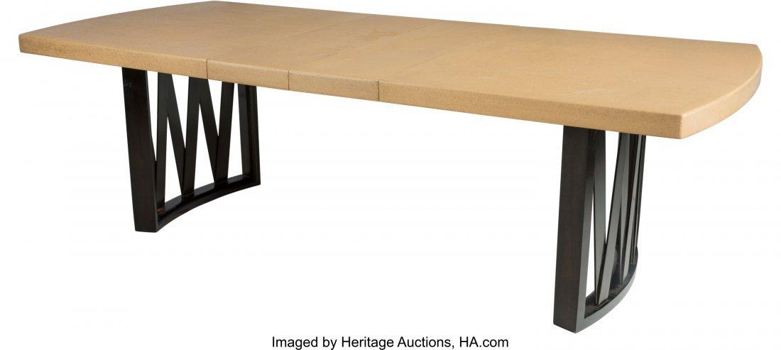 67146: Paul Frankl (Austrian, 1886-1958) Dining Table,  - 3