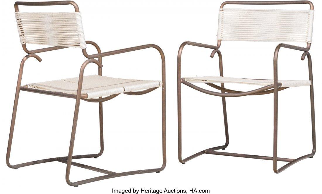 67161: Walter Lamb (American, 20th Century) Square Tabl - 2
