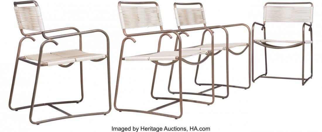 67161: Walter Lamb (American, 20th Century) Square Tabl - 3
