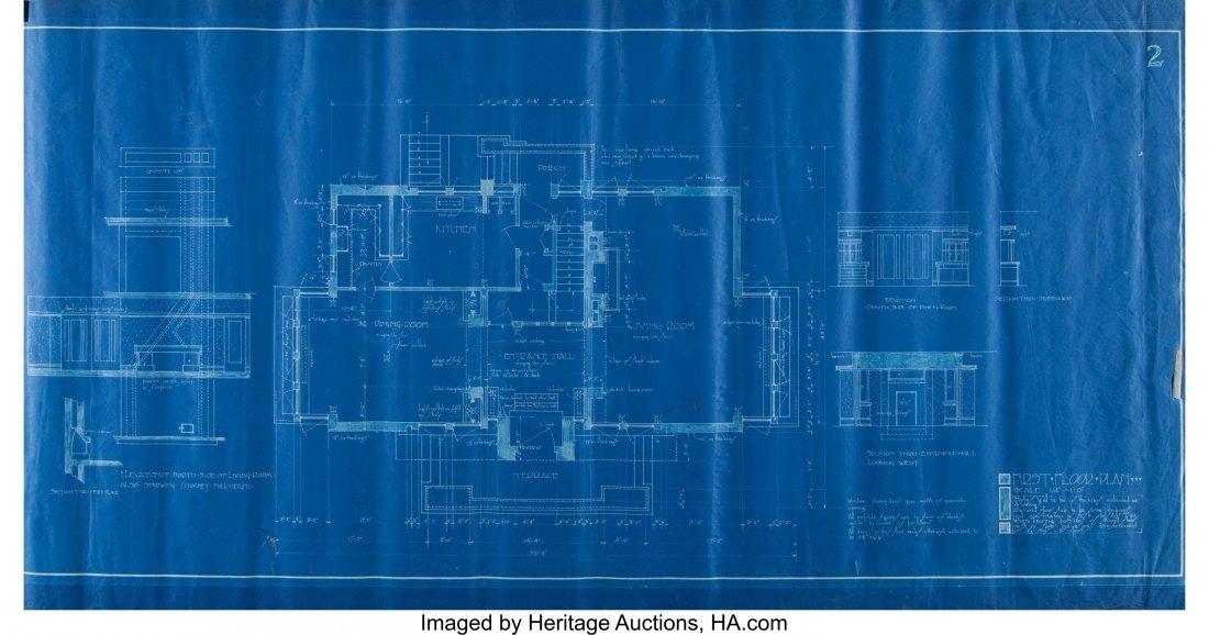 67062: Frank Lloyd Wright (American, 1867-1959) Set of  - 2