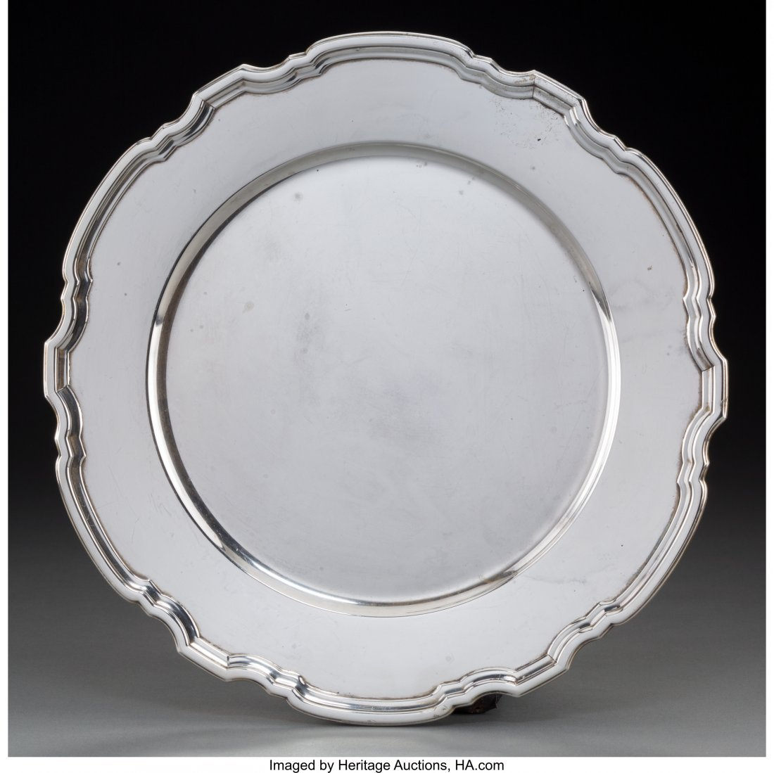 74182: A Tiffany & Co. Silver Plate, New York City Mark