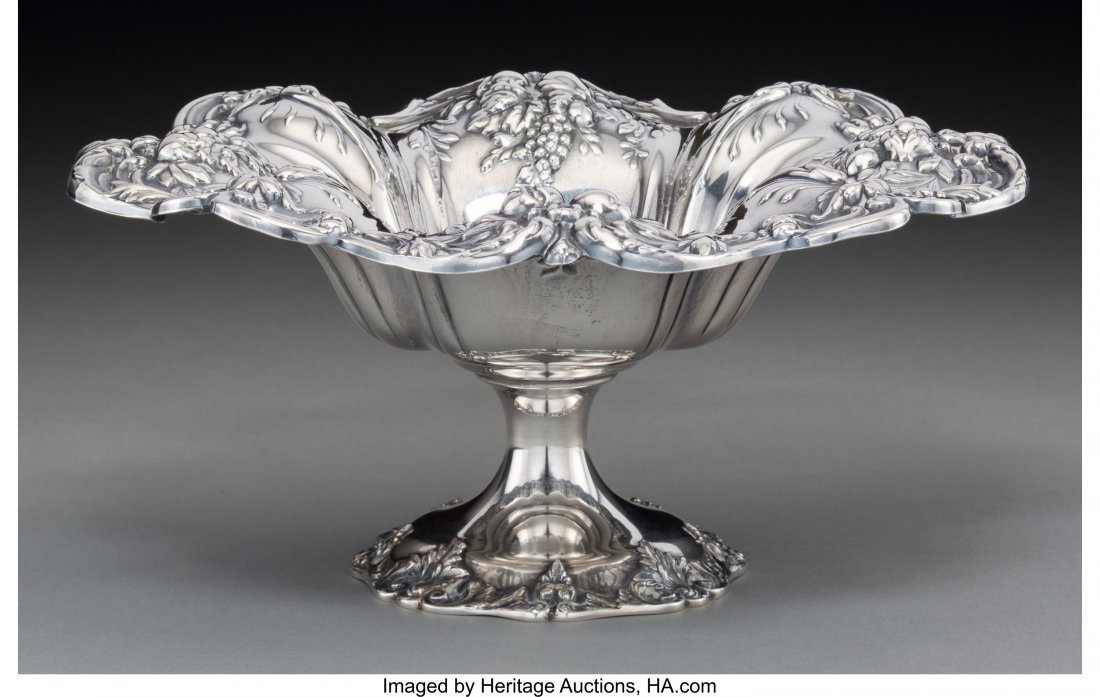 74136: A Reed & Barton Francis I Pattern Silver Compote