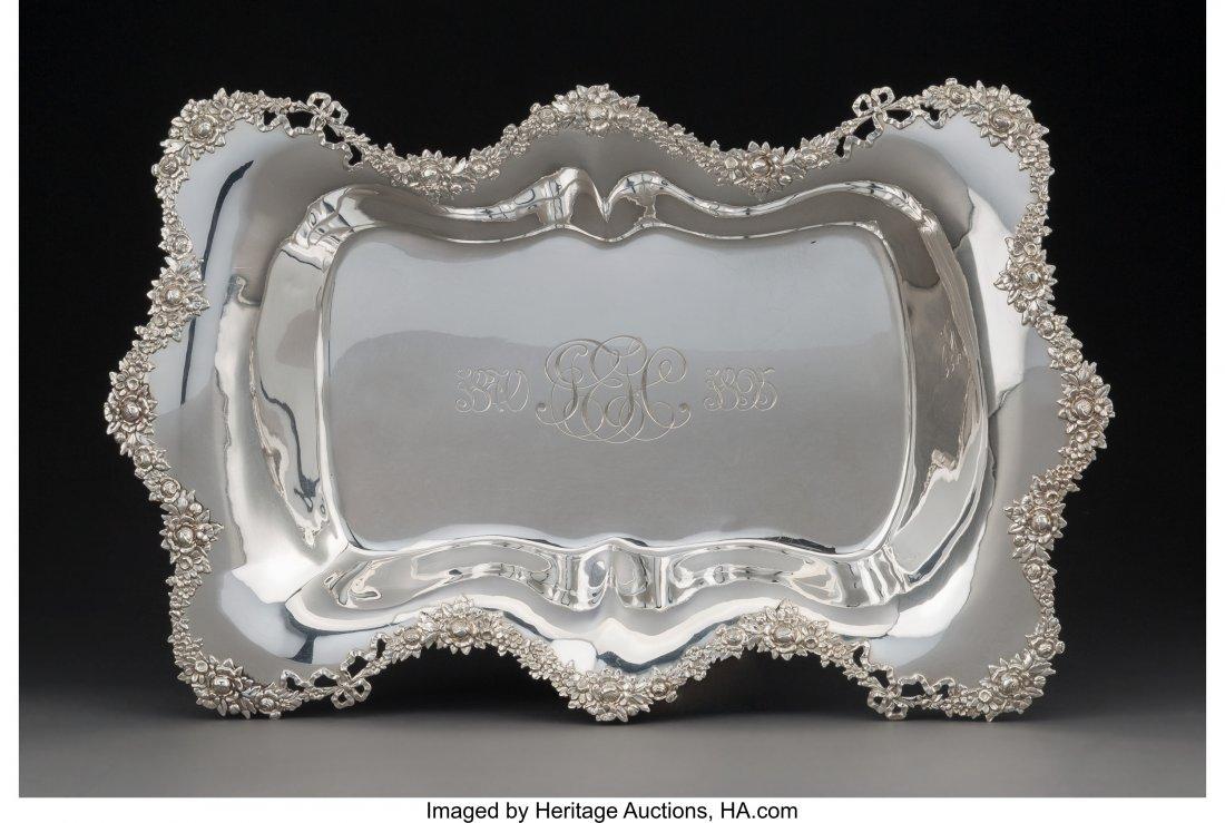 74144: A Redlich & Co. Silver Serving Bowl, New York, N