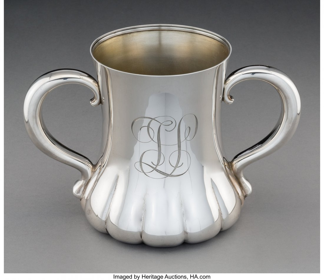 74158: A Tiffany & Co. Silver Two-Handled Loving Cup, N