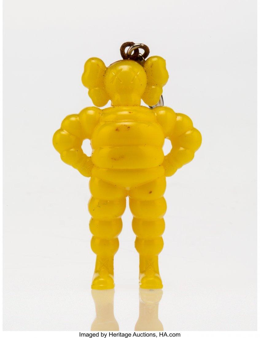 11005: KAWS (American, b. 1974) Chum (Yellow), keychain