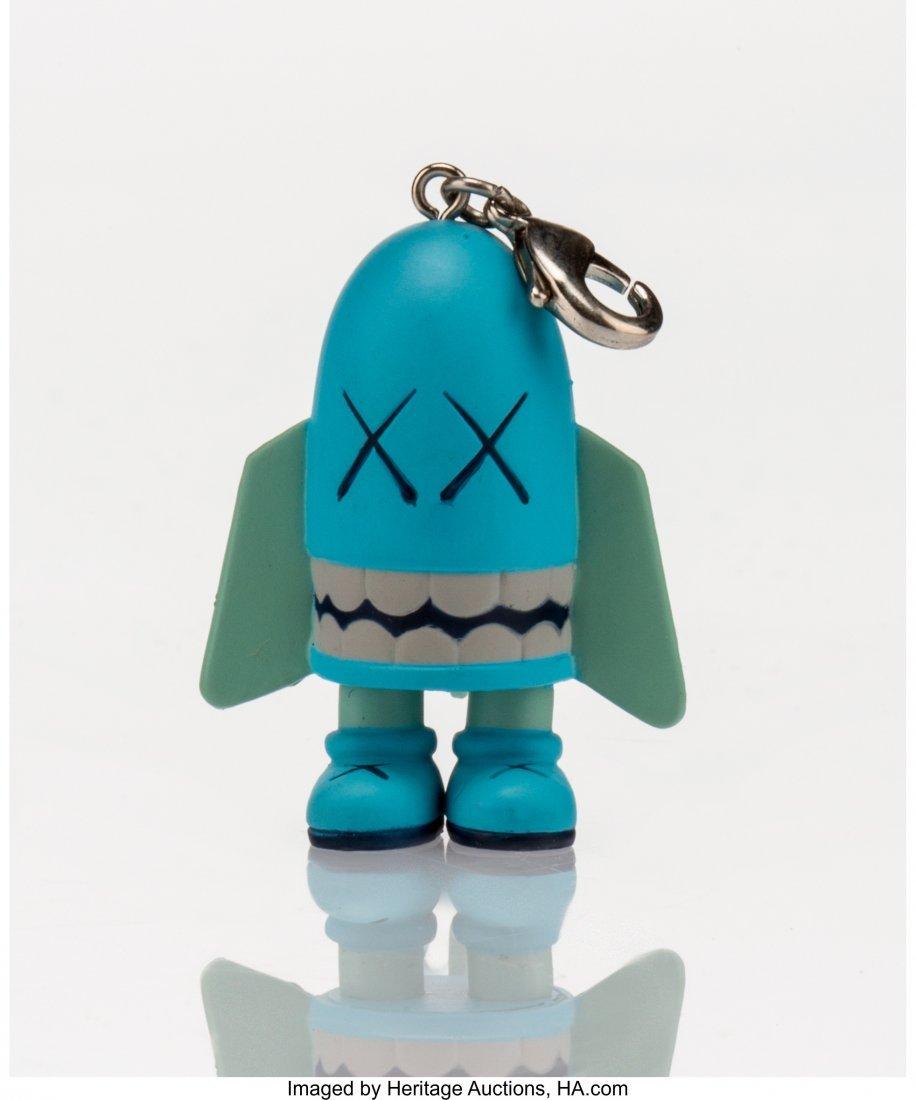 11016: KAWS (American, b. 1974) Blitz (Blue), keychain,