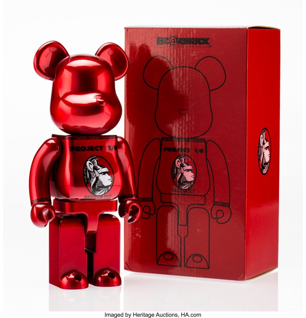 11206: BE@RBRICK X Project 1/6 Centurion 400% (Red), 20