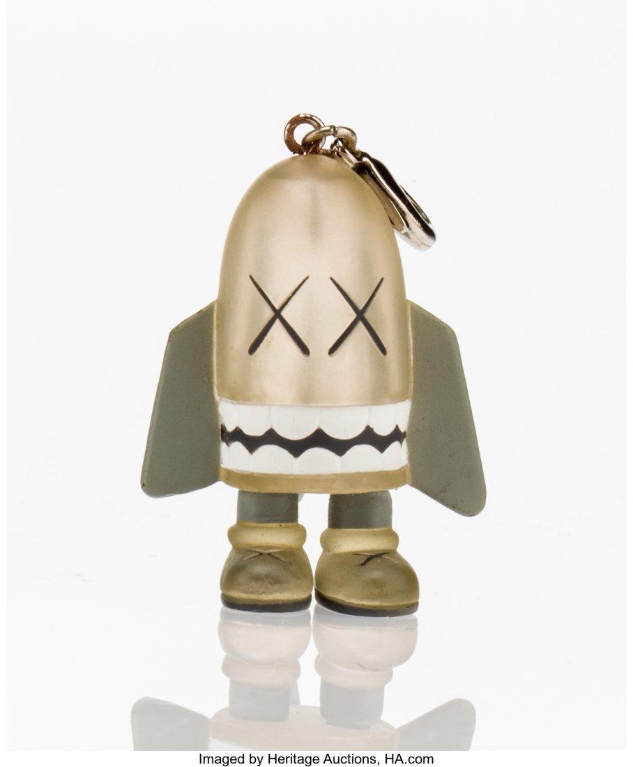11019: KAWS (American, b. 1974) Blitz (Grey), keychain,