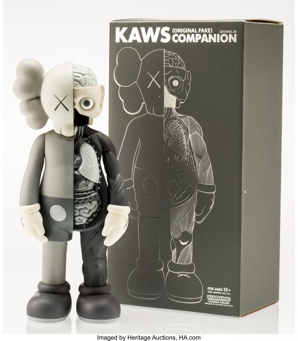 11020: KAWS (American, b. 1974) Dissected Companion (Gr