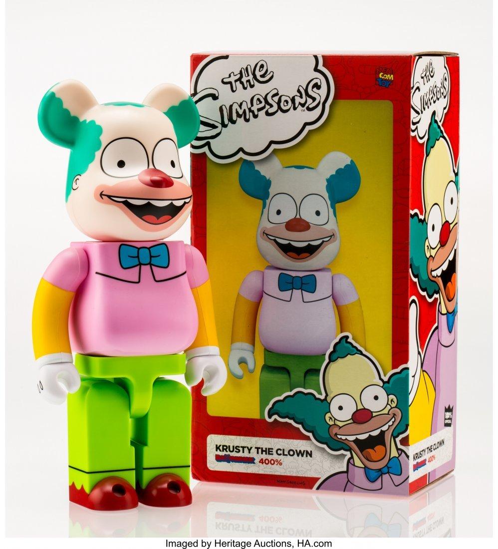 11219: BE@RBRICK X The Simpsons Krusty the Clown 400%,