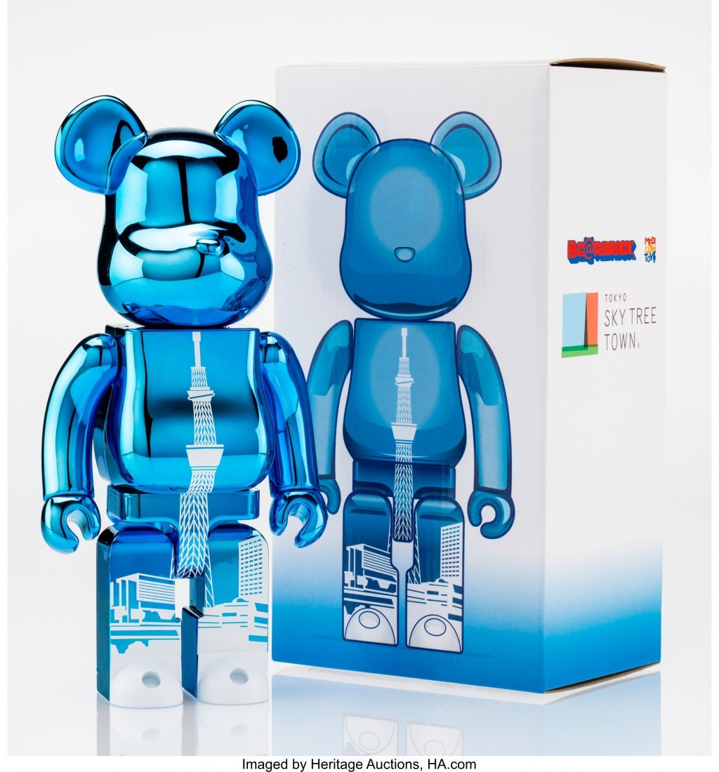 11165: BE@RBRICK Tokyo Skytree Town 400% (Blue), 2015 P