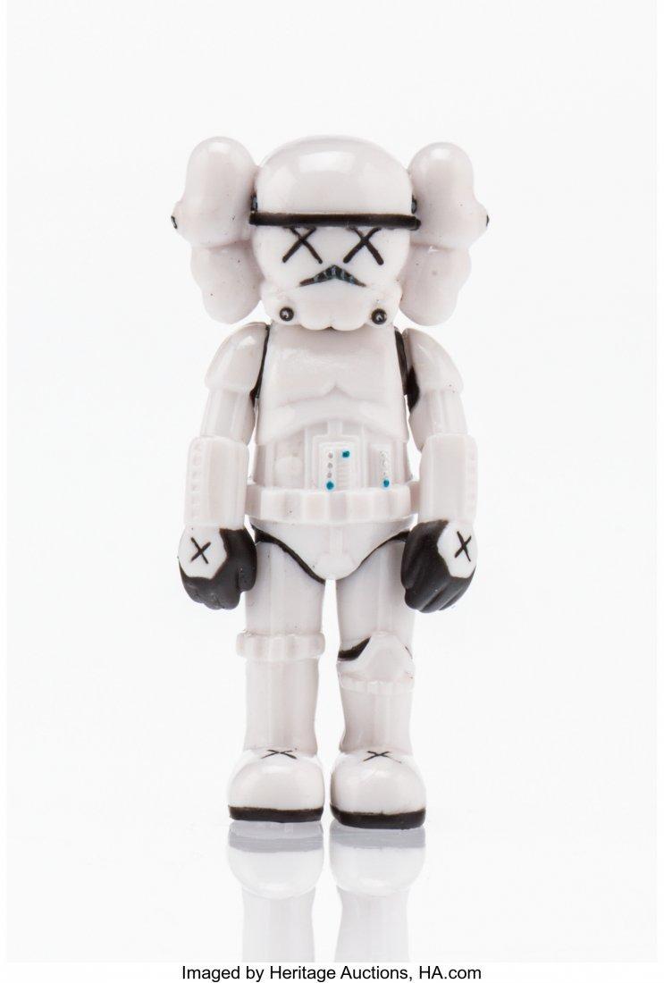 11056: KAWS X Lucas Films Storm Trooper-Mini, 2013 Pain