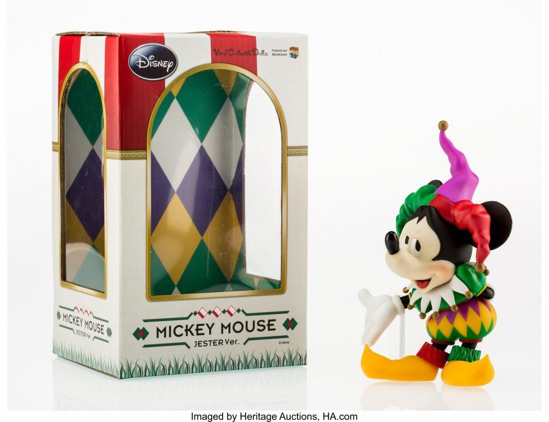 11246: Disney Mickey Mouse, Jester, 2010 Painted cast v