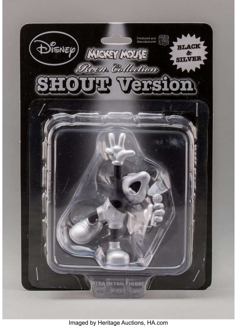 11249: Disney Mickey Mouse, Shout Version, 2012 Painted