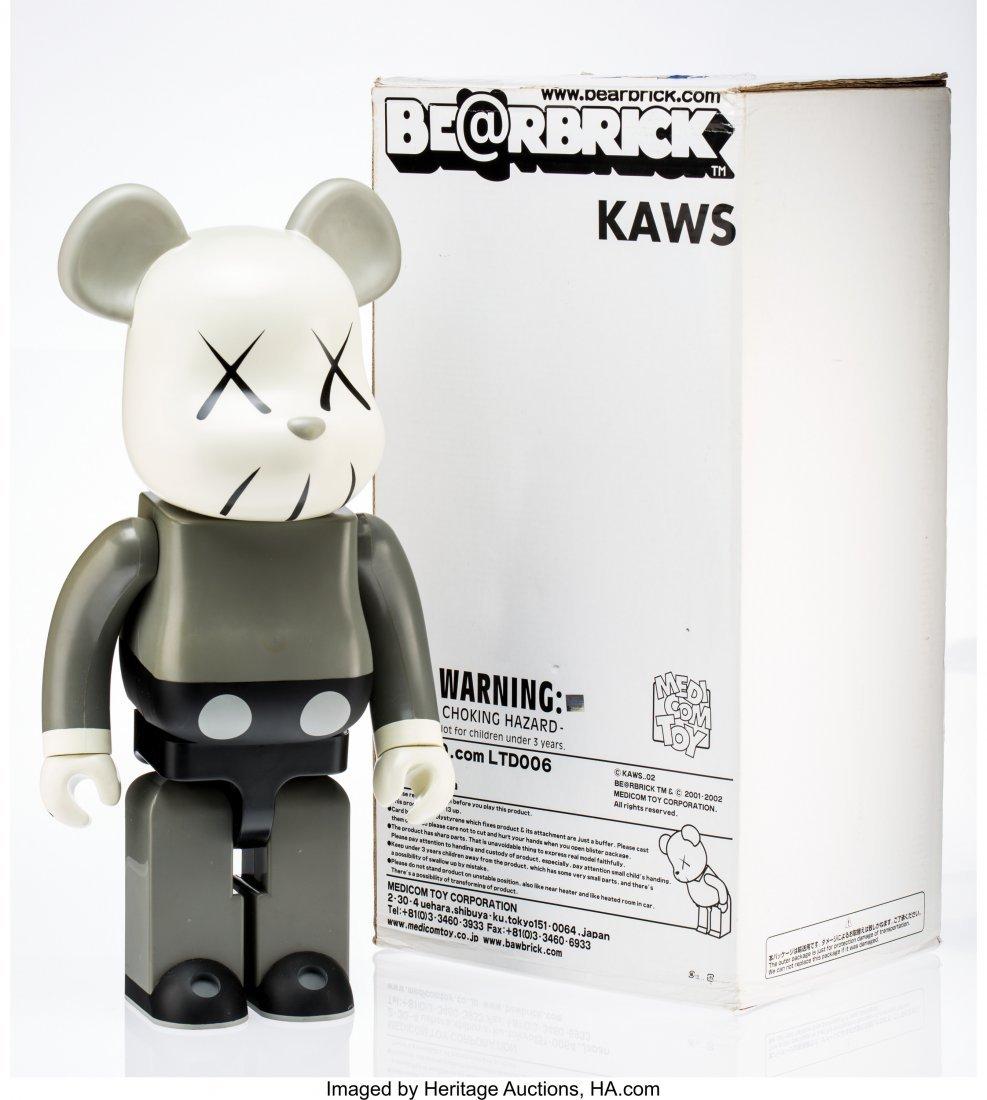 11063: KAWS X BE@RBRICK Companion 1000%, 2002 Painted c