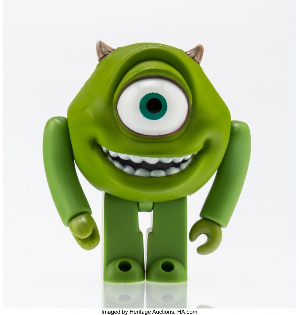 11258: Disney Mike Wazowski, from Monster's Inc.  Paint