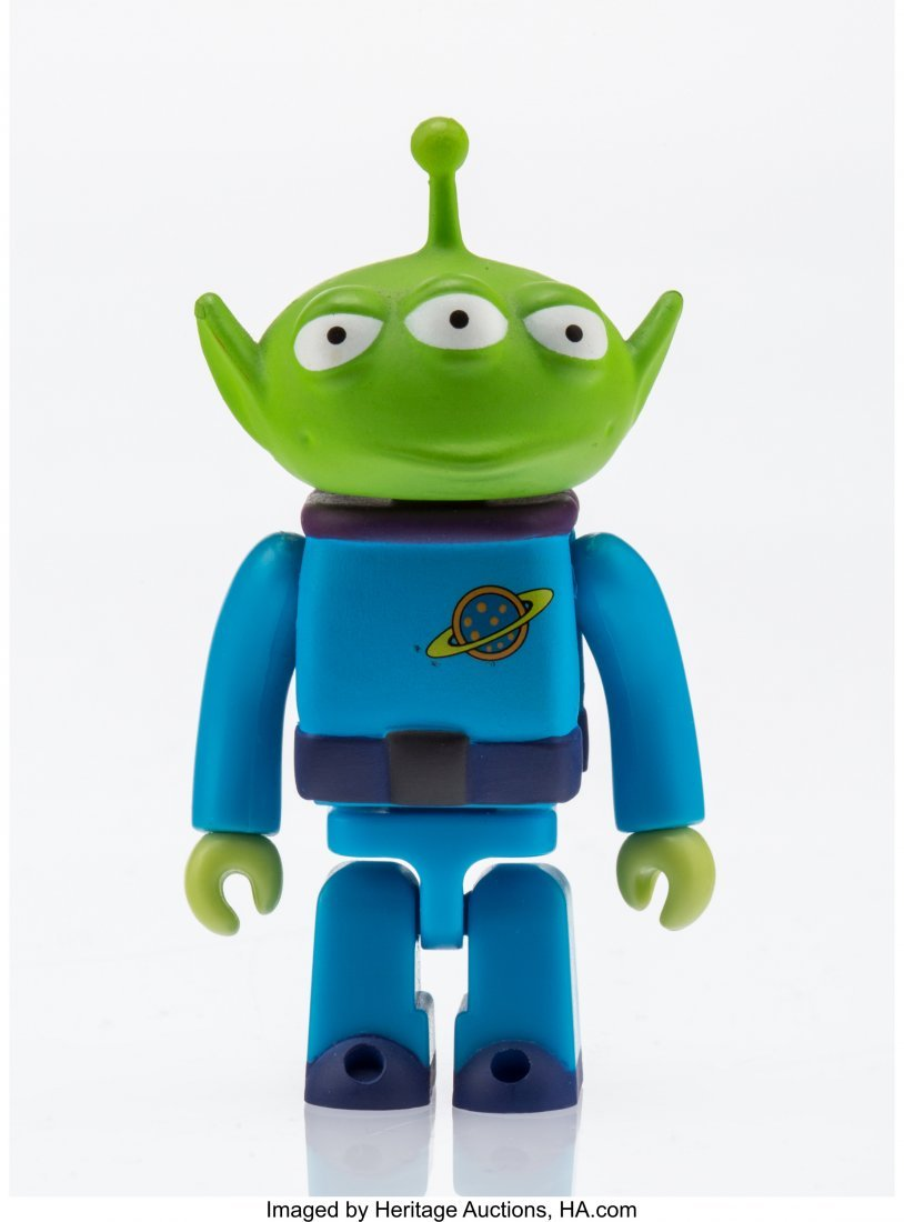 11260: Disney Alien, from Toy Story Painted cast resin