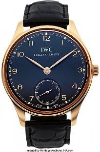 IWC Ref. IW545406 Rose Gold Portuguese Case: 44