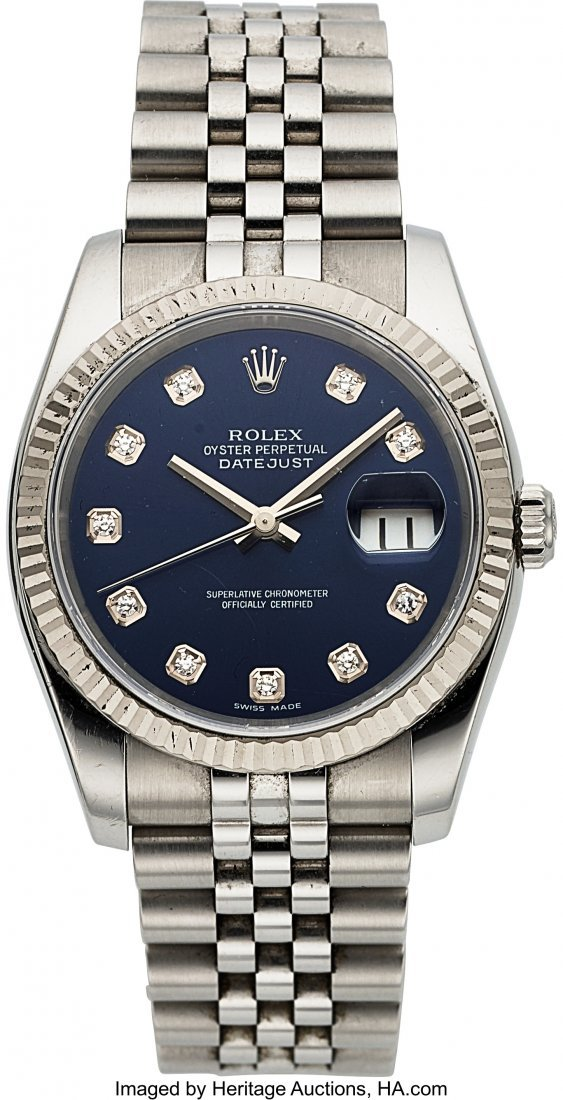 54173: Rolex Ref 116234 Steel Oyster Perpetual Datejust