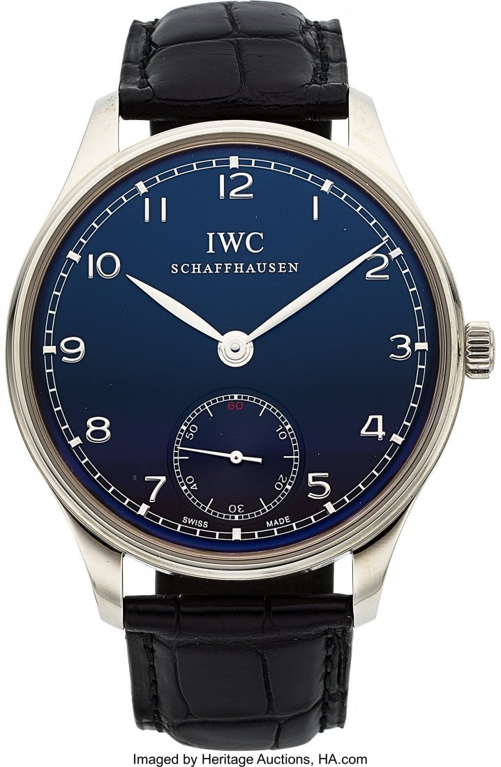 54003: IWC Ref. IW545407 Steel Portuguese Wristwatch  C