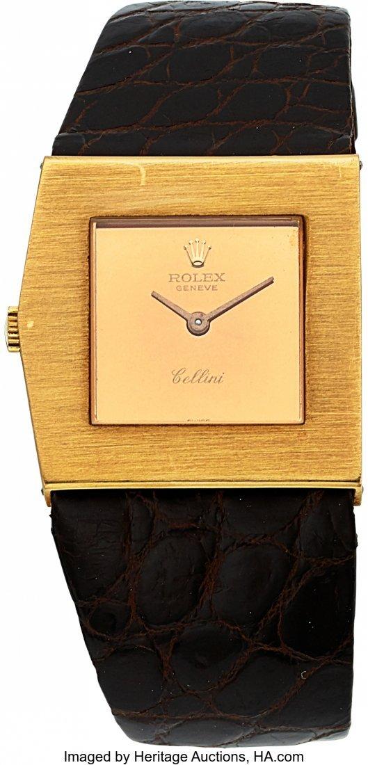 54175: Rolex Ref. 4017 Gold Cellini King Midas  Case: N