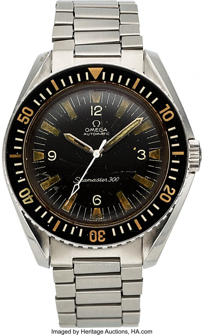 54263: Omega, Ref.165.024, Seamaster 300, circa 1967  C