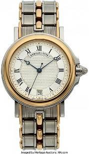 54011 Breguet Horloger De La Marine Steel Gold Autom