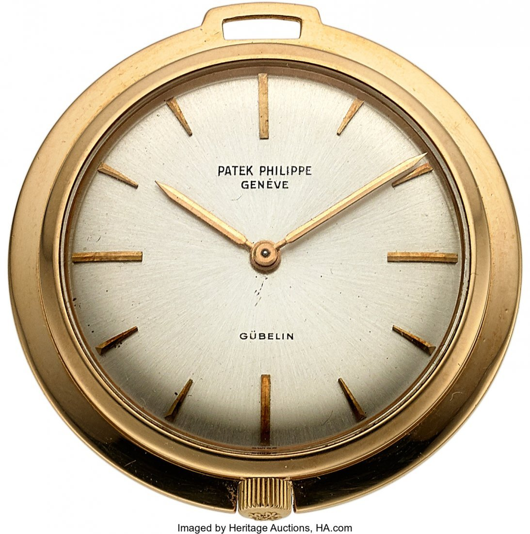"54356: Patek Philippe, Ref. 782,  18k ""Golf"" Pocketwatc"