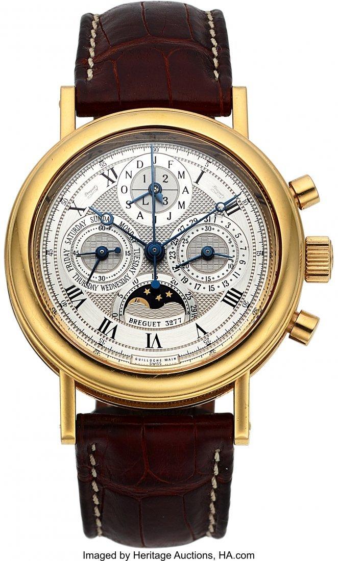 54189: Breguet, Ref: 5617, Perpetual Calendar Chronogra