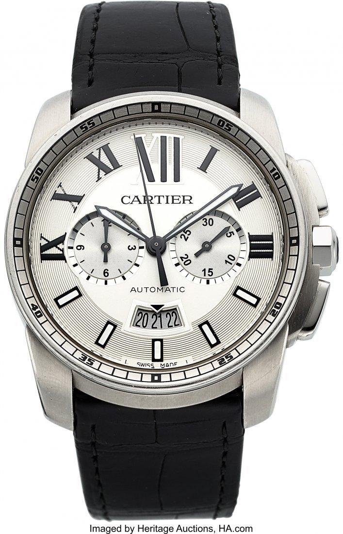 54103: Cartier Ref. 3578 Calibre de Cartier Automatic C