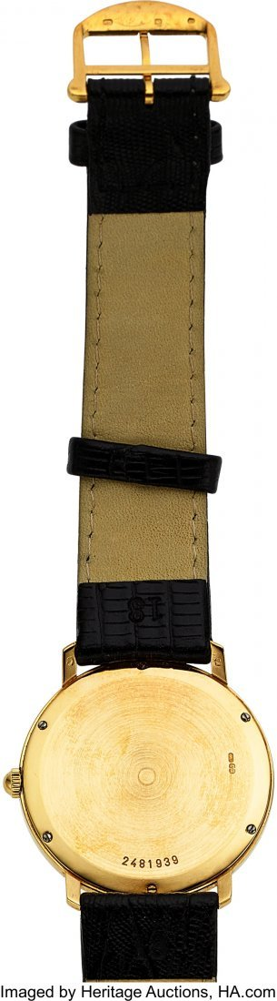 "54018: IWC 18k Gold ""Romain"" Ref. 2009 Ultra-Thin Watch - 2"