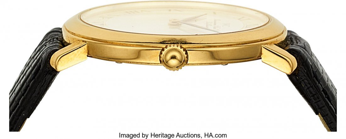"54018: IWC 18k Gold ""Romain"" Ref. 2009 Ultra-Thin Watch - 3"