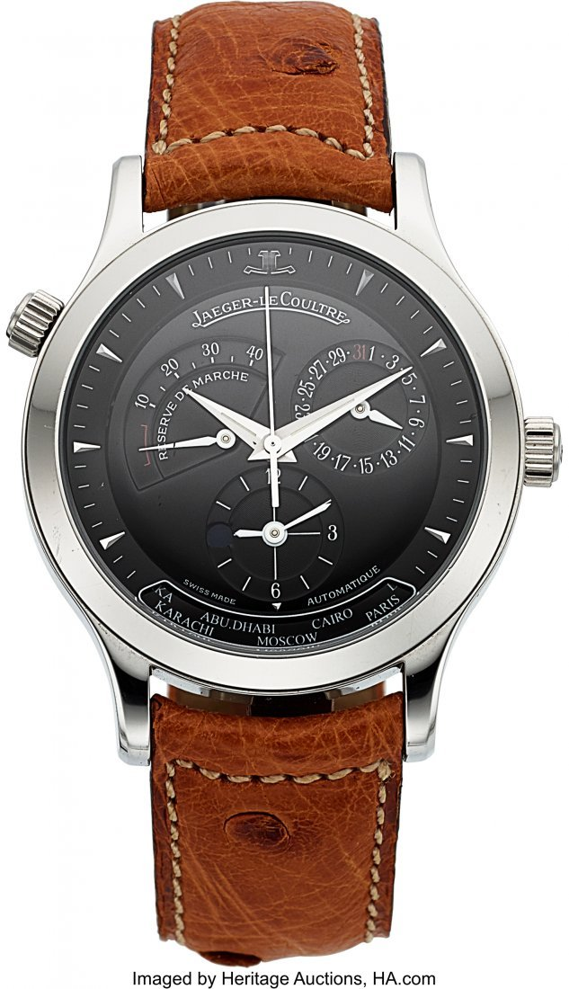 54194: Jaeger LeCoultre Master Control 1000 Geographic