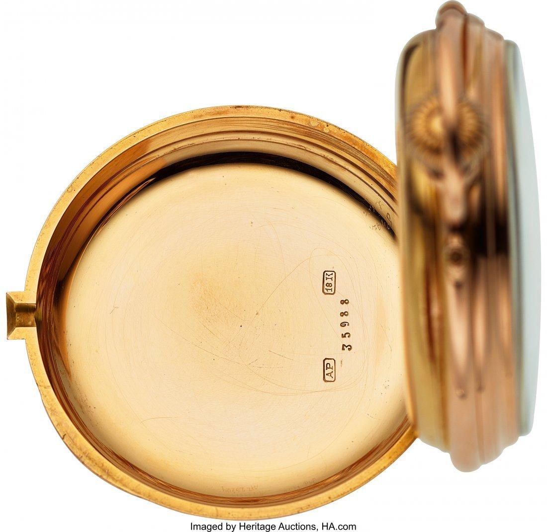 54366: Swiss High Grade 18k Gold Minute Repeater, circa - 4