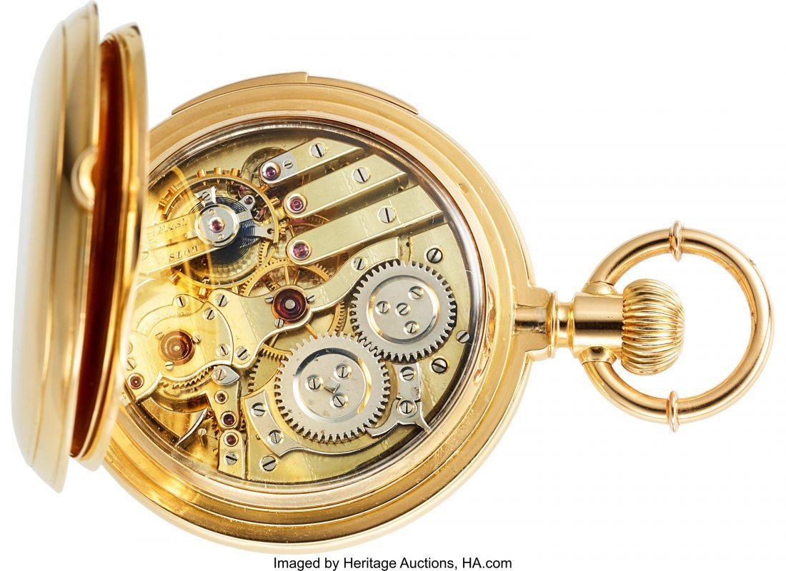 54367: L.C. Grandjean Locle 18k Gold Five Minute Repeat - 6