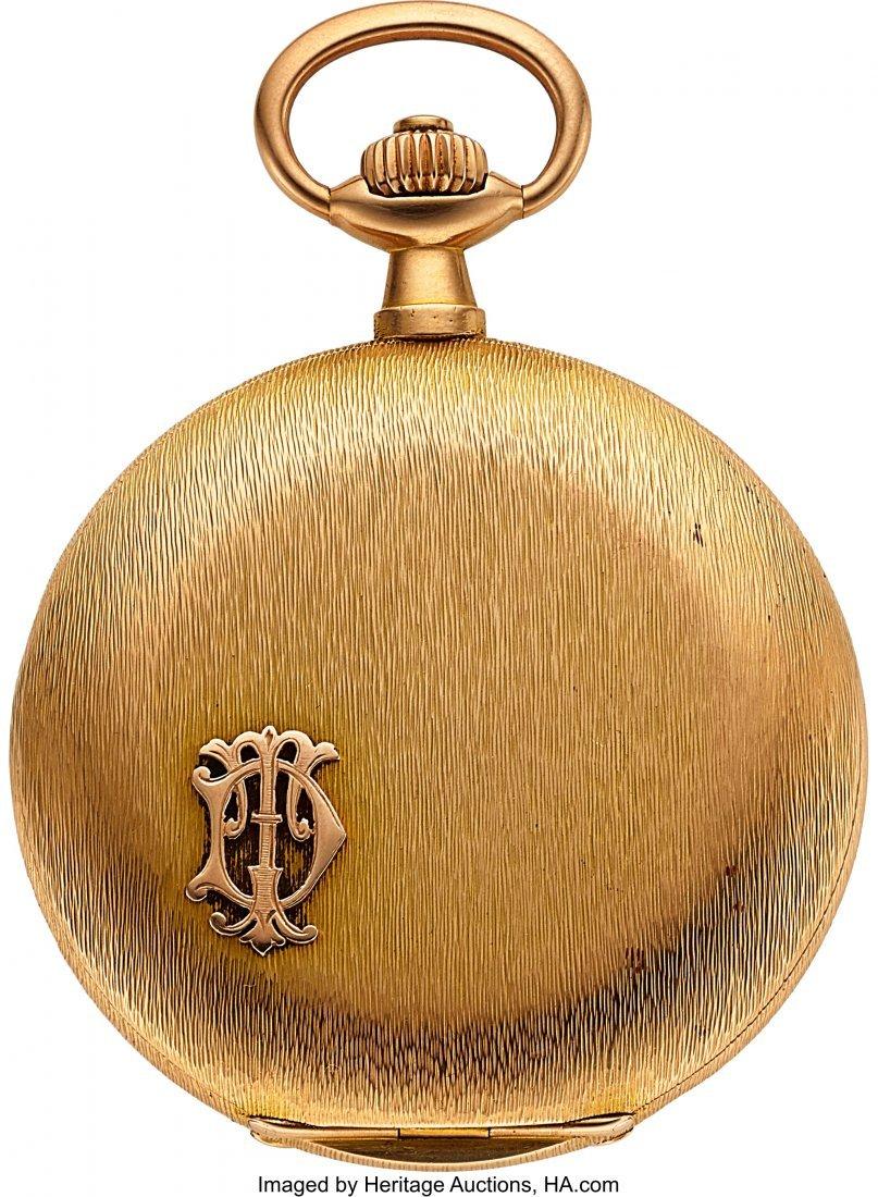 54368: A. Lange & Söhne 18k Gold Hunter Case Watch, ci - 2