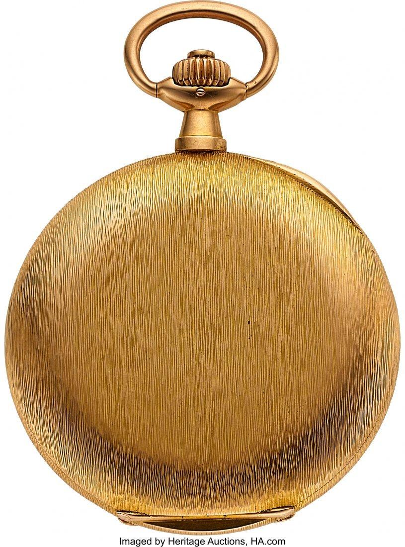 54368: A. Lange & Söhne 18k Gold Hunter Case Watch, ci - 4
