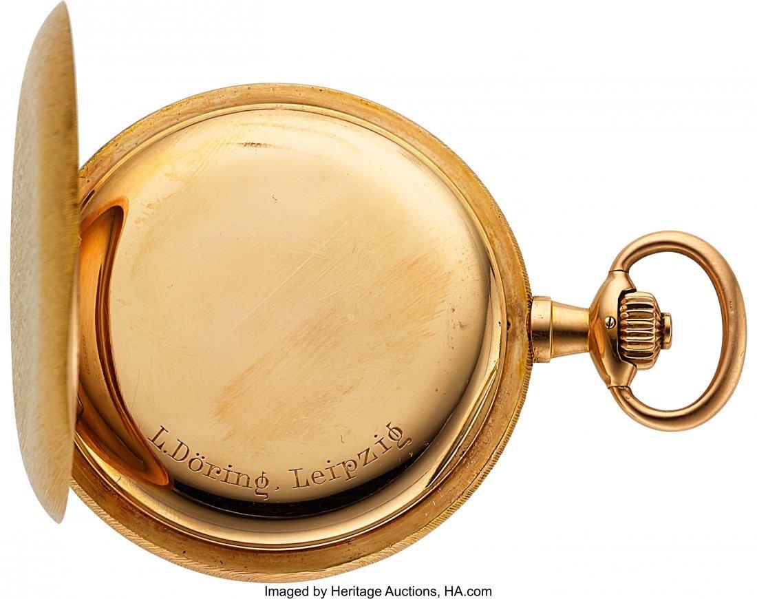 54368: A. Lange & Söhne 18k Gold Hunter Case Watch, ci - 5