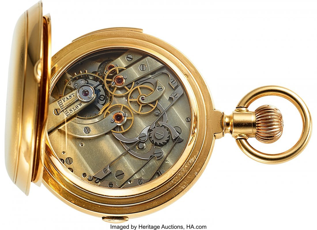 54369: E. Huguenin & Co. Locle Choice 18k Gold Minute R - 3