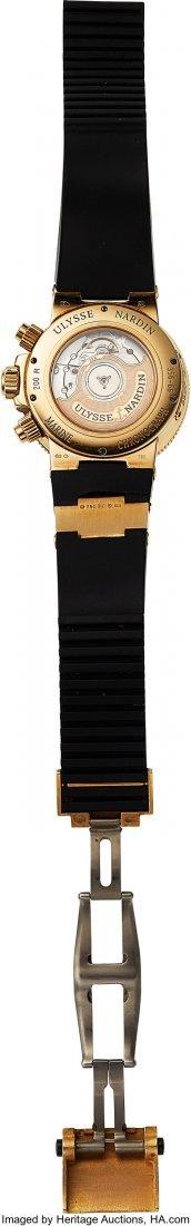 54199: Ulysse Nardin, Ref: 356-66, 18k Gold Marine Chro - 2